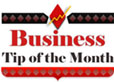 Business Tip of the Month